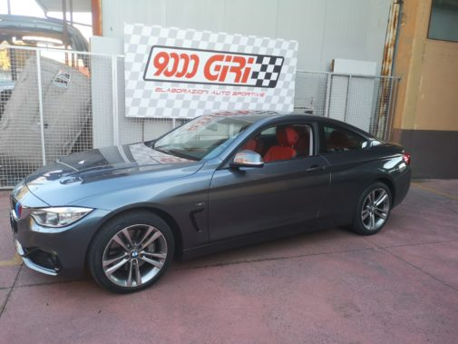 Bmw 435i powered by 9000 Giri