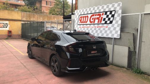 Honda Civic 1.5 Vtec powered by 9000 Giri