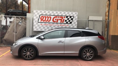 Honda Civic 1.6 idtec powered by 9000 Giri