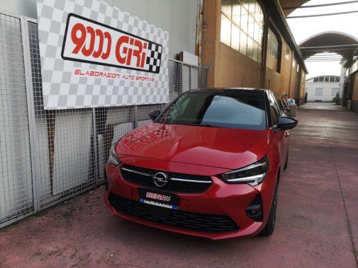 Opel Corsa 1.2 turbo powered by 9000 Giri