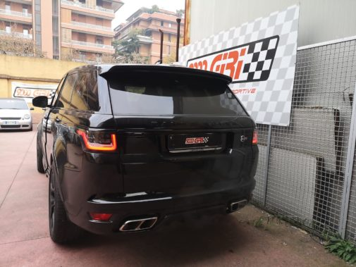 Range Rover Sport Svr Supercharger powered by 9000 Giri