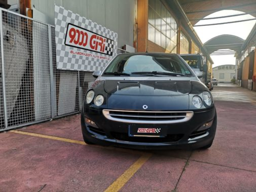 Smart Forfour 1.1 powered by 9000 Giri