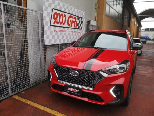 Hyundai Tucson Ix 35 1.6 Hybrid powered by 9000 giri