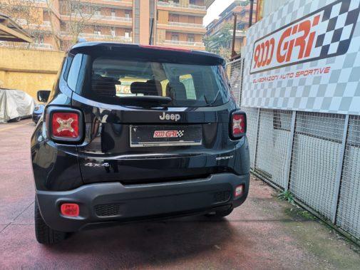 Jeep Renegade 2.0 cdi powered by 9000 Giri