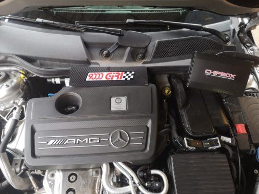 Mercedes Cla 45 Amg powered by 9000 Giri
