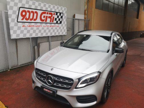 Mercedes Gla 200d powered by 9000 Giri