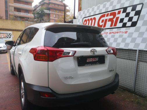 Toyota 2.0 Rav 4 d4d powered by 9000 Giri