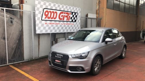 Audi A1 1.6 tdi powered by 9000 Giri