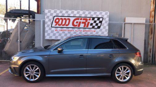 Audi A3 1.4 tfsi sportback powered by 9000 Giri