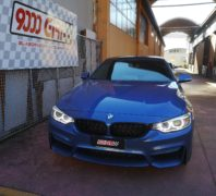 "Elaborazione Bmw 420d ""Total sound"""