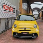 """Elaborazione Fiat 500 Abarth 595 Pista """"Giallo ginestra"""""""