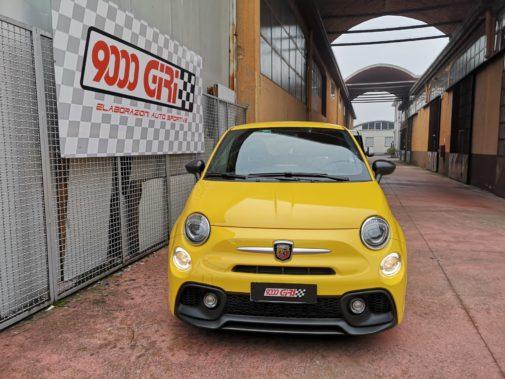 Fiat 500 Abarth 595 Pista powered by 9000 Giri