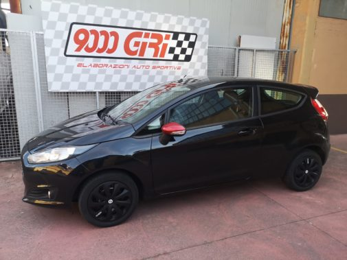 Ford Fiesta 1.5 dci powered by 9000 Giri
