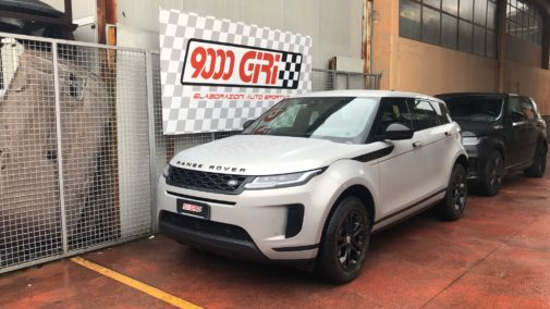 Land Rover Evoque 2.2 td powered by 9000 Giri
