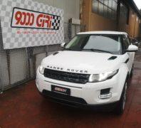 "Elaborazione Range Rover Evoque 2.2 td ""Good Job"""