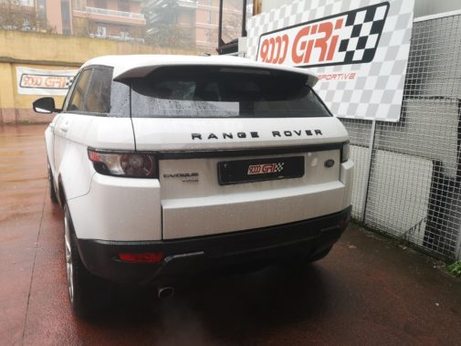 Range Rover Evoque 2.2 td powered by 9000 Giri