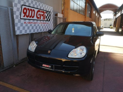 Porsche Cayenne 3.2 V6 powered by 9000 Giri