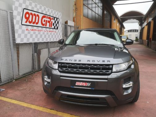 Range Rover Evoque 2.0 tb powered by 9000 giri