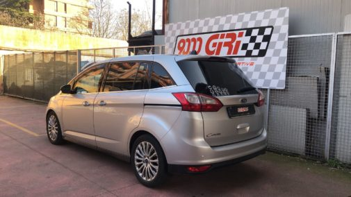 Ford C-Max 1.6 powered by 9000 Giri