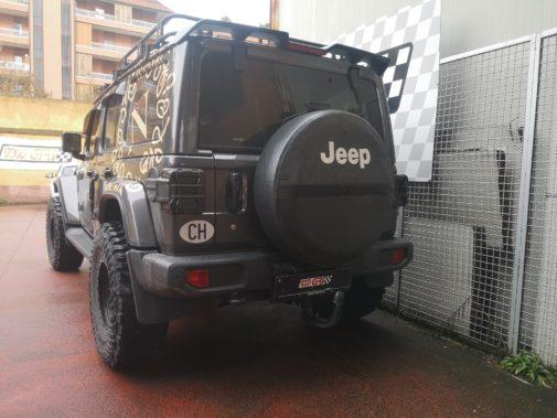 Jeep Wrangler Jl 2.2 crd powered by 9000 Giri