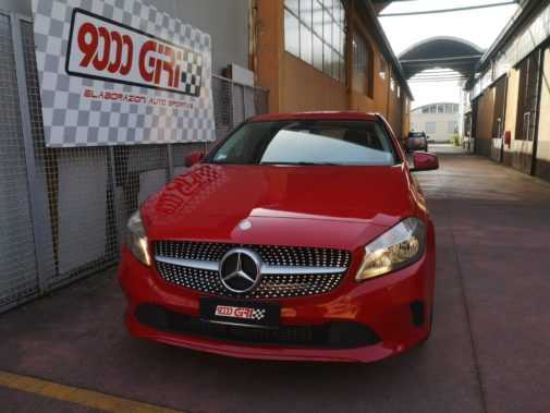 Mercedes A160 powered by 9000 Giri