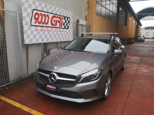 Mercedes classe A 1.5 dci powered by 9000 Giri