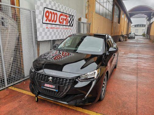 Peugeot 208 1.3 tb powered by 9000 Giri