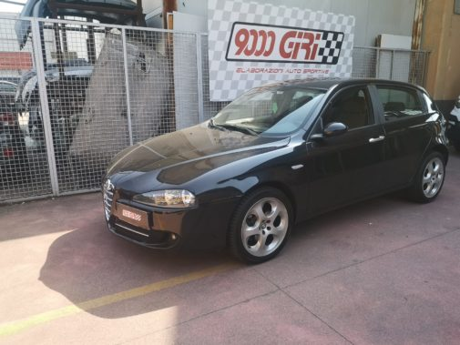 Alfa 147 1.6 powered by 9000 Giri