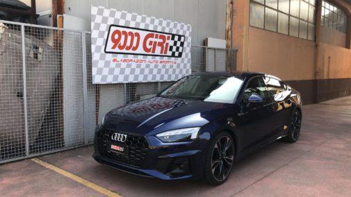 Audi A5 45 powered by 9000 Giri