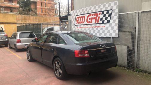 Audi A6 2.0 tfsi powered by 9000 Giri