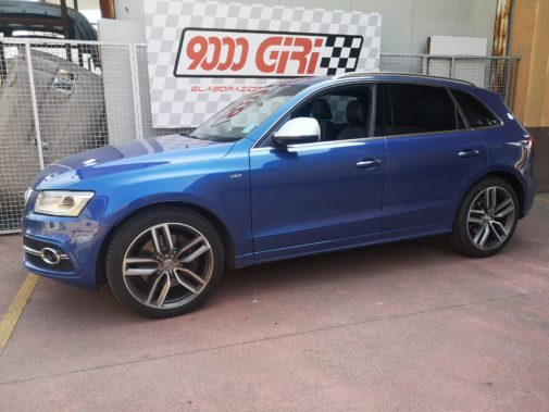 Audi SQ5 3.0 tdi powered by 9000 Giri