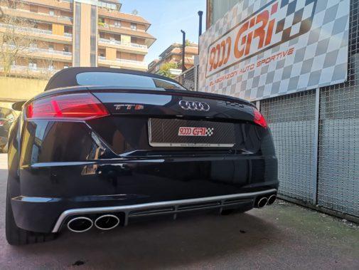 Audi TTS tfsi powered by 9000 Giri