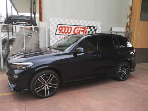 Bmw X5 3.0d Hybrid powered by 9000 Giri