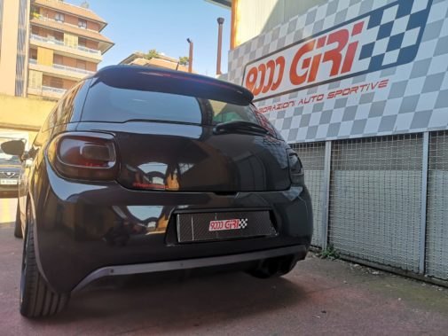 Citroen ds3 1.6 thp powerd by 9000 giri
