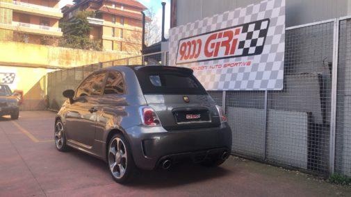 Fiat 500 Abarth 595 cabrio powered by 9000 Giri