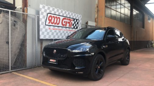 Jaguar e-Pace 2.0 td powered by 9000 Giri