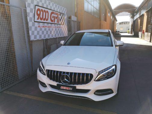 Mercedes C220 d powered by 9000 Giri