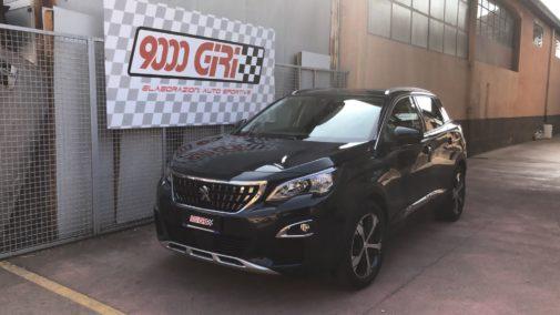 Peugeot 3008 1.6 hdi powered by 9000 Giri