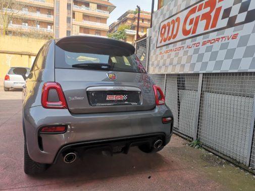 Fiat 500 Abarth 595 powered by 9000 Giri