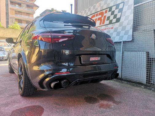 Alfa Romeo Stelvio Quadrifoglio powered by 9000 Giri