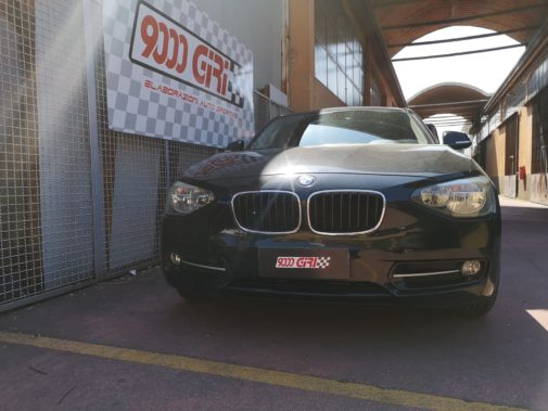 Bmw 118d powered by 9000 giri