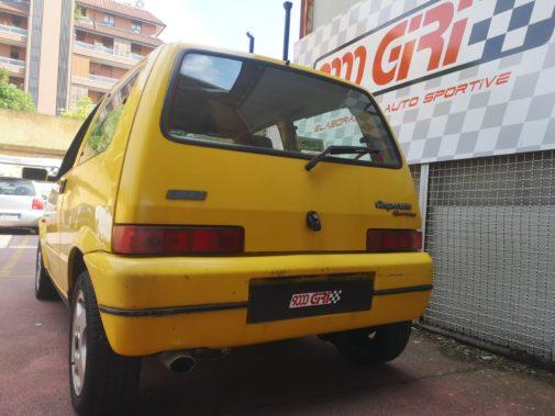 Fiat 500 Sporting powered by 9000 Giri