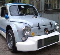 """Elaborazione Fiat 600 Abarth """"Geronimo Stilton"""""""