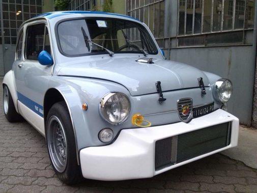Fiat 600 Abarth powered by 9000 Giri