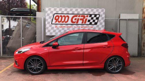 Ford Fiesta 1.5 tdci powered by 9000 Giri
