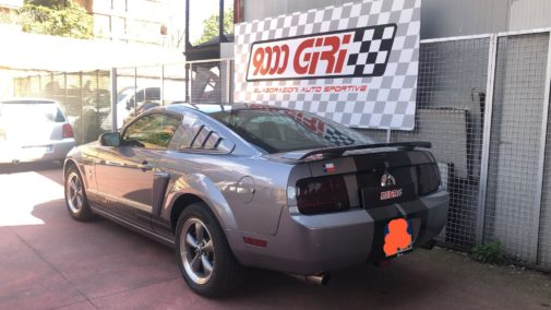 Ford Mustang 4.0 powered by 9000 giri