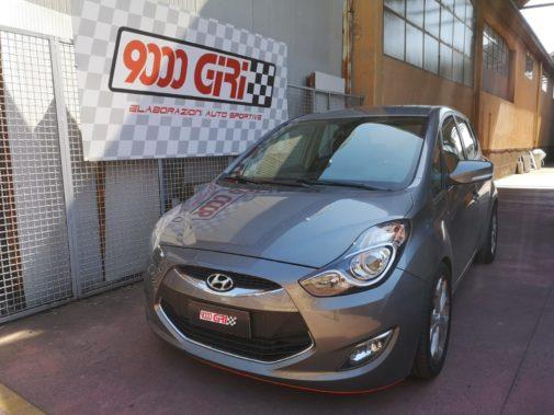 Hyundai I20 powered by 9000 Giri