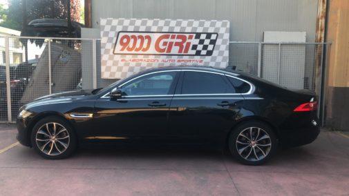 Jaguar Xf 3.0 td powered by 9000 Giri