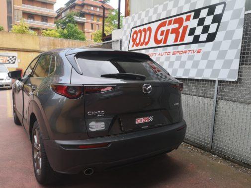 Mazda Cx30 powered by 9000 Giri