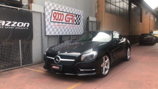 Mercedes Sl 350 powered by 9000 Giri